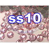 Rhinestones | SS10/2.8mm | Hotfix Rhinestone/Light Pink | 250 Gross