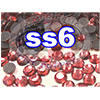 Rhinestones | SS06/2.0mm | Pink | 100 Gross
