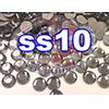 Rhinestones | SS10/2.8mm | Black Diamond | 25 Gross