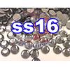 Rhinestones   SS16/4.0mm   Black Diamond   25 Gross