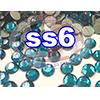 Rhinestones | SS06/2.0mm | Blue Zircon | 100 Gross