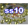 Rhinestones | SS10/2.8mm | Citrine | 100 Gross