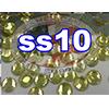 Rhinestones | SS10/2.8mm | Hotfix Rhinestone/Citrine | 500 Gross