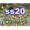 Rhinestones | SS20/5.0mm | Hotfix Rhinestone/Citrine | 05 Gross