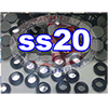 Rhinestones | SS20/5.0mm | Cosmo Jet | 05 Gross