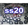Rhinestones | SS20/5.0mm | Cosmo Jet | 100 Gross
