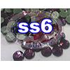 Rhinestones | SS06/2.0mm | Dark Amethyst | 500 Gross