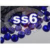 Rhinestones | SS06/2.0mm | Dark Sapphire | 25 Gross