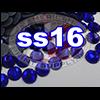 Rhinestones | SS16/4.0mm | Dark Sapphire | 05 Gross