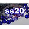 Rhinestones | SS20/5.0mm | Dark Sapphire | 50 Gross