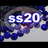 Rhinestones | SS20/5.0mm | Dark Sapphire | 100 Gross