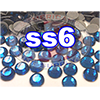 Rhinestones | SS06/2.0mm | Hotfix Rhinestone/Deep Blue | 500 Gross