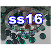 Rhinestones | SS16/4.0mm | Emerald | 25 Gross