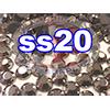 Rhinestones | SS20/5.0mm | Hemetite | 50 Gross