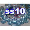 Rhinestones | SS10/2.8mm | Hotfix Rhinestone/Light Aqua | 25 Gross