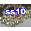 Rhinestones | SS10/2.8mm | Light Topaz | 25 Gross