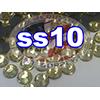 Rhinestones   SS10/2.8mm   Light Topaz   100 Gross