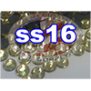 Rhinestones | SS16/4.0mm | Light Topaz | 25 Gross
