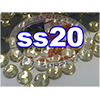 Rhinestones | SS20/5.0mm | Light Topaz | 25 Gross