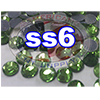 Rhinestones | SS06/2.0mm | Peridot | 25 Gross
