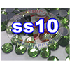 Rhinestones | SS10/2.8mm | Peridot | 25 Gross