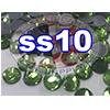 Rhinestones   SS10/2.8mm   Peridot   100 Gross