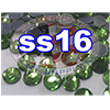 Rhinestones | SS16/4.0mm | Peridot | 100 Gross