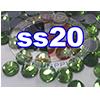 Rhinestones | SS20/5.0mm | Peridot | 25 Gross