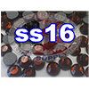Rhinestones | SS16/4.0mm | Smoked Topaz | 25 Gross
