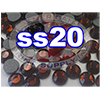 Rhinestones | SS20/5.0mm | Smoked Topaz | 25 Gross