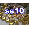 Rhinestones | SS10/2.8mm | Topaz | 100 Gross