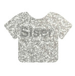 Glitter | 20 x 12 Inch | Silver | Sheets -Bulk savings Per Sheet