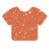 Glitter | 20 x 12 Inch | Transluscent Orange | Sheets -Bulk savings Per Sheet