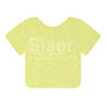 Glitter | 20 x 12 Inch | Neon Yellow | Sheets -Bulk savings Per Sheet