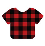 EasyPattern | 12 Inch Roll  Buffalo Plaid Red | Yards - Bulk savings Per Yard