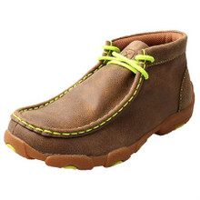 Kid's Driving Mocs Neon Yellow YDM0011