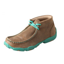 Youth Twisted X  Driving  Mocs Turquoise