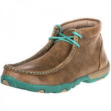 Womens Twisted X Driving Mocs Turquoise