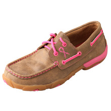 Womens Twisted X Driving Mocs Pink