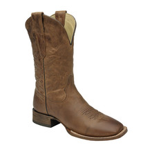 Men's Corral Waxi Brown Wide Square Toe Boots