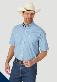 George Strait Short Sleeve Shirt Big and Tall  (MGST787-BT)