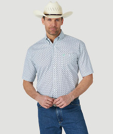 George Strait Short Sleeve Shirt Big and Tall - MGSK763-BT