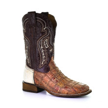 Men's Patchwork Rodeo Collection Sq. Toe A3826