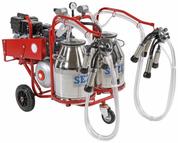 Portable Milking Machine - Single cluster petrol