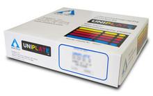 HPTLC-Bonded Phase Sample Pack 150um 10x20cm scored (5 plates each RP2, RP8, RP18, CN, NH2) P07527