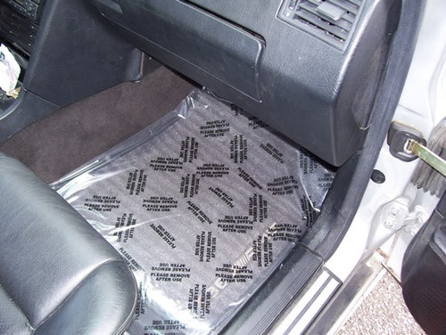 Adhesive Backed Car Floor Covering - Roll of 100 - FREE SHIPPING