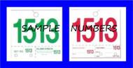 Dispatch Numerals