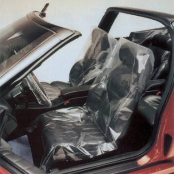 Plastic Seat Cover 1.0 mil / Roll or Case FREE SHIPPING