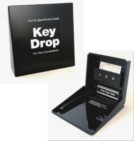 After Hours Key Drop Box for dealers - FREE SHIPPING