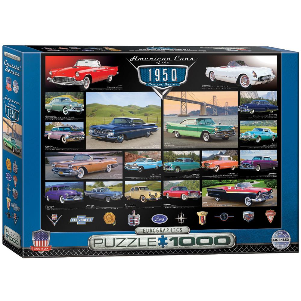 1950 s Cruisin  Classics 1000-Piece Jigsaw Puzzle 2dc4bc34c5f98